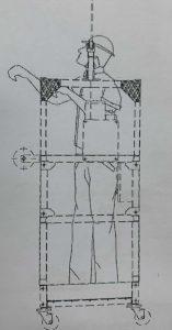 Temporary Gondola drawing
