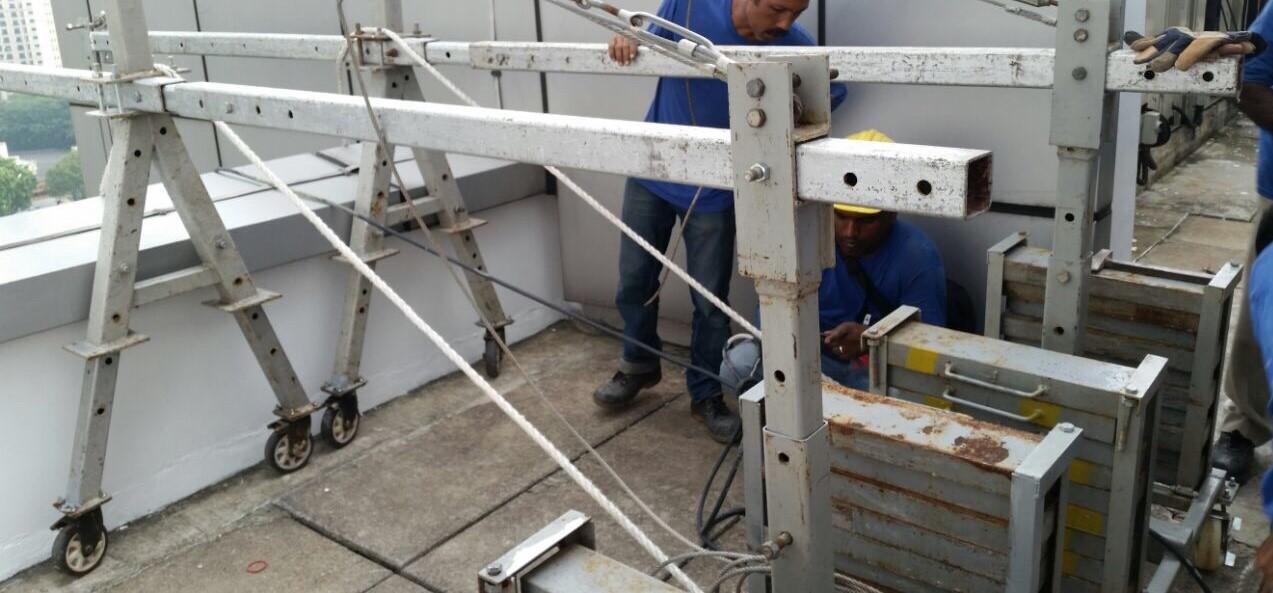 Gondola Temporary System Counterweight