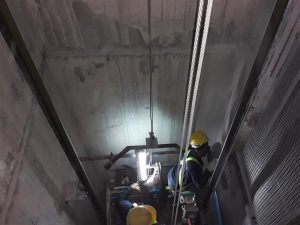Lift Shaft Gondola