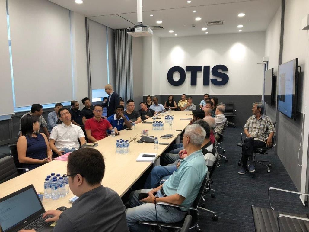 Otis Vendor Gondola Meeting
