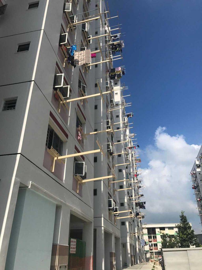 HDB Home Improvement Program (HIP) - T-shaped Clothes Rack