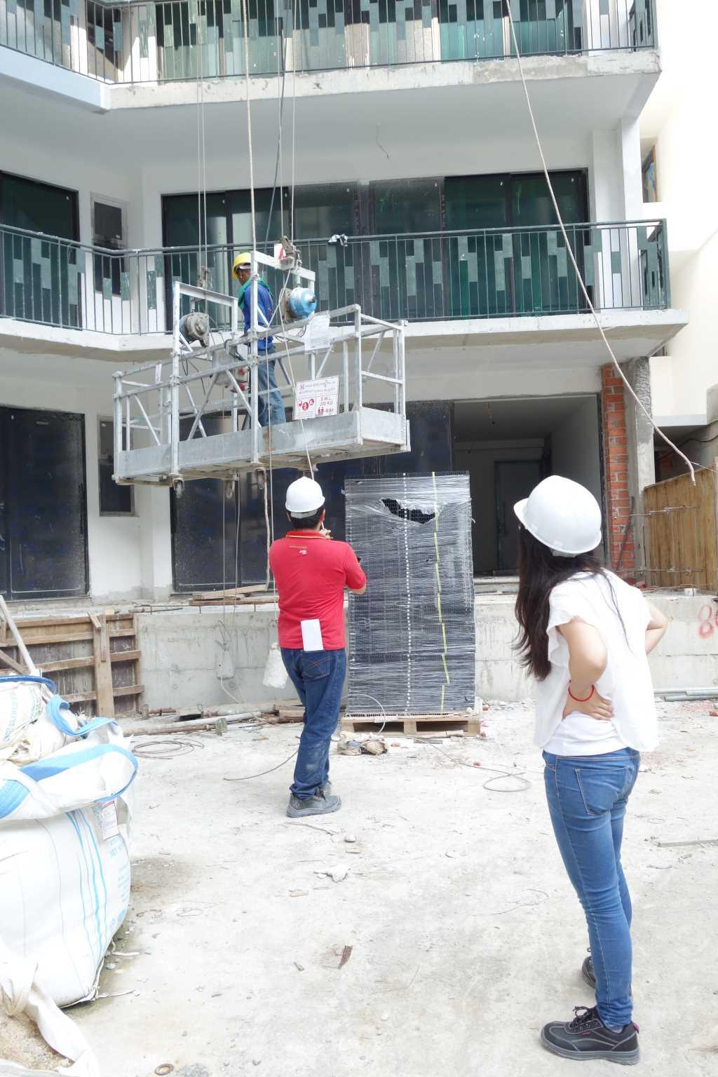 Gondola Supervisor at construction site