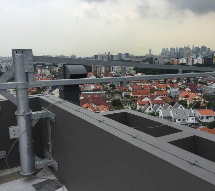 Permanent Gondola System Davits Arm