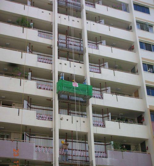 Upgrading of HDB flats